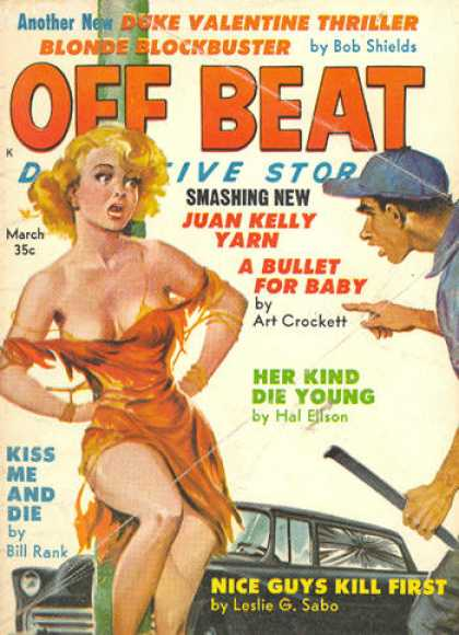 Off Beat Detective Stories - 3/1961