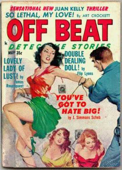 Off Beat Detective Stories - 5/1961