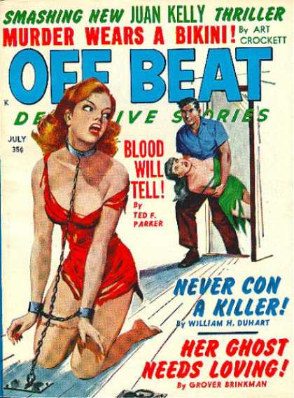 Off Beat Detective Stories - 7/1961