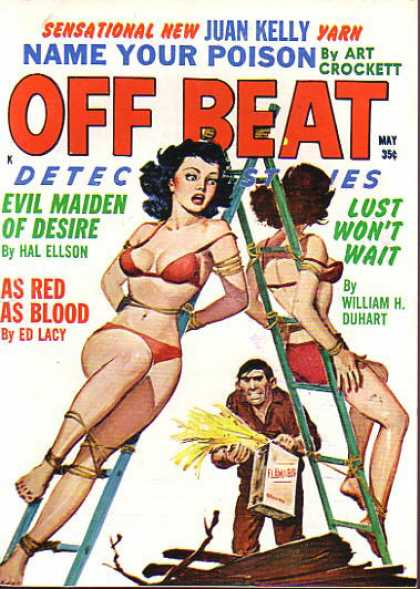 Off Beat Detective Stories - 5/1962