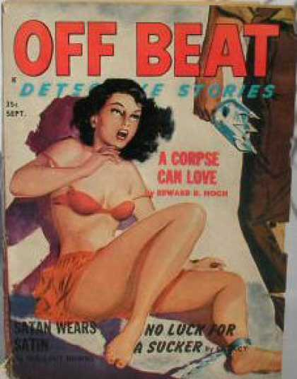 Off Beat Detective Stories - 9/1962