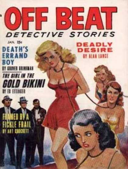 Off Beat Detective Stories - 1/1963