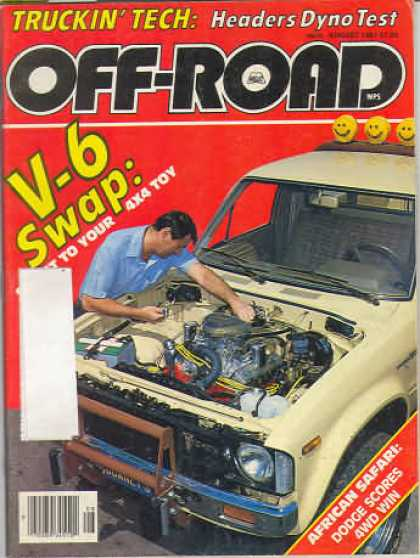 Off Road - August 1981