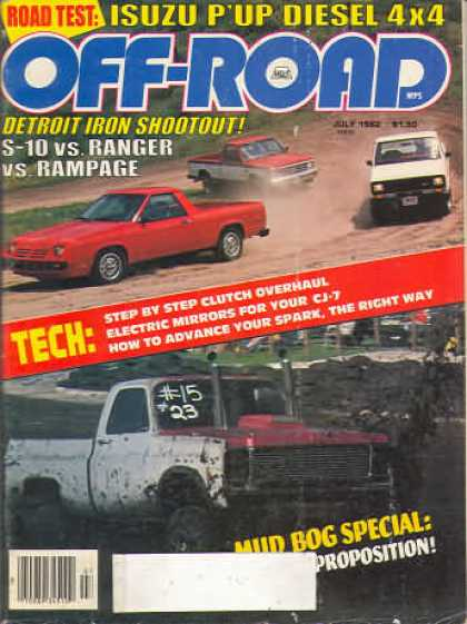 Off Road - July 1982