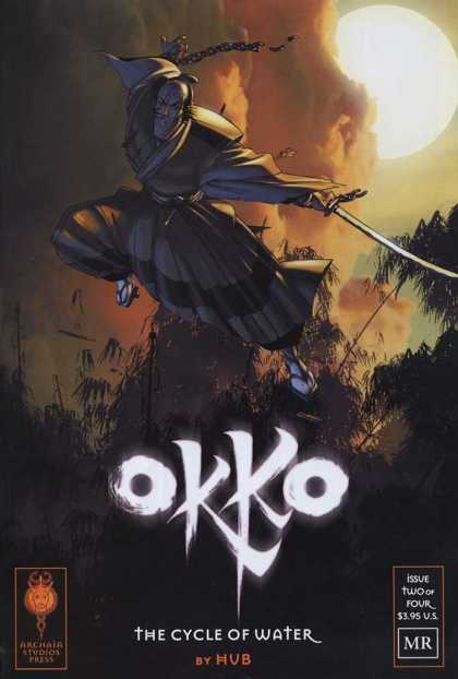 Okko 2 - Sword - Issue Two Of Four - By Hub - City Of Water - Bright Sun