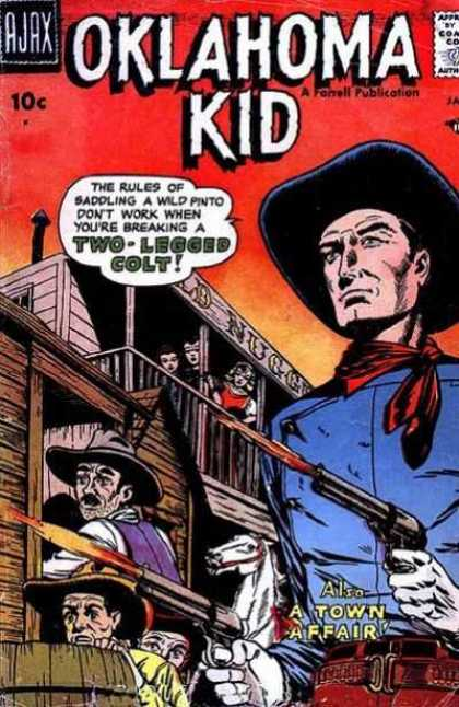 Oklahoma Kid 4 - Oklahoma Kid - Gun Slingers - Two-legged Colt - A Town Affair - Cowboy