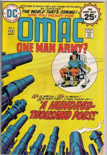 Omac 3 - Movies - World - Computer - Foes - Hundred-thousand - Jack Kirby, Renato Guedes