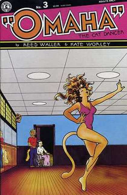 Omaha the Cat Dancer 3 - Reed Waller - Kate Worley - Woman - Dances - Man