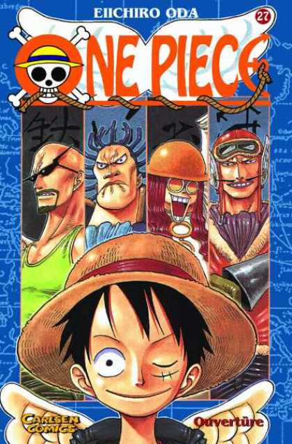 One Piece 27 - Manga - Anime - Pirates - Carlsen Comics - Carlsen