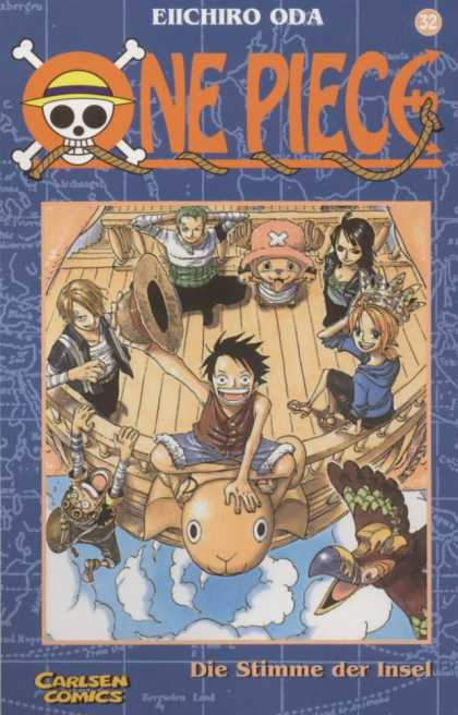 One Piece 32 - Eiichiro Oda - Manga - German - Luffy - Pirate
