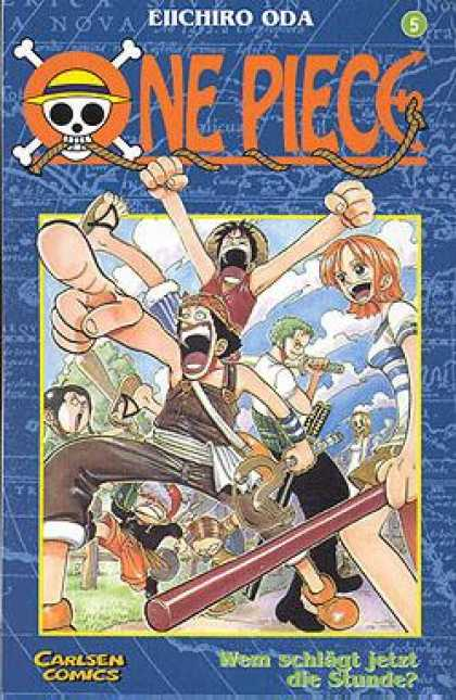 One Piece 5 - Skul - Namie - Zorro - Luffy - Carlsen Comics