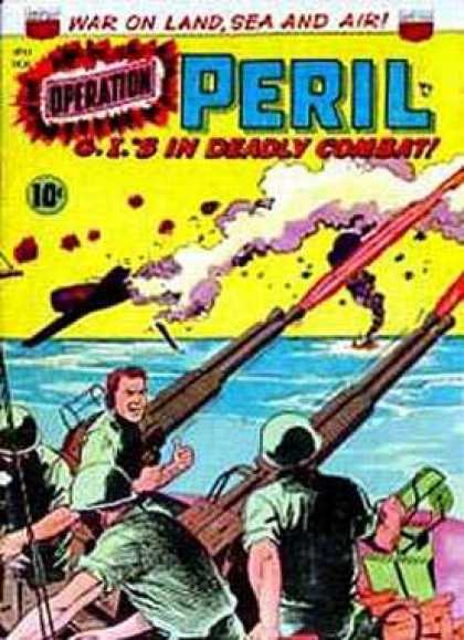 Operation Peril 13 - Rockets - Battle - Soldiers - Sea - Missiles