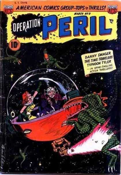 Operation Peril 9 - Adventure - Flying Monsters - Glass Bubble - Dangerous Mission - Fire