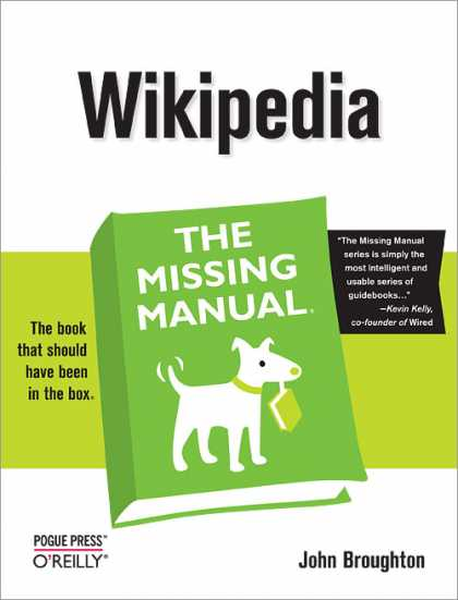 O'Reilly Books - Wikipedia: The Missing Manual