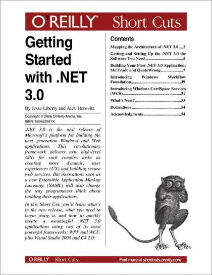 O'Reilly Books - Getting Started with .NET 3.0