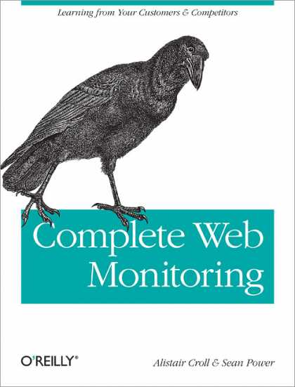 O'Reilly Books - Complete Web Monitoring