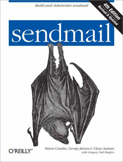 O'Reilly Books - sendmail, Fourth Edition