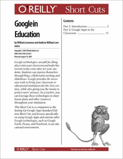 O'Reilly Books - Google in Education