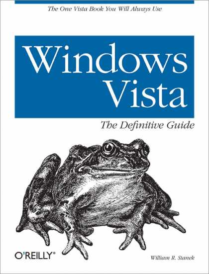 O'Reilly Books - Windows Vista: The Definitive Guide