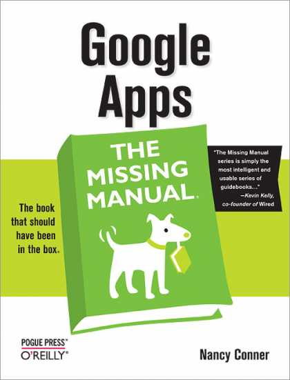 O'Reilly Books - Google Apps: The Missing Manual