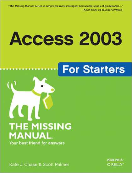 O'Reilly Books - Access 2003 for Starters: The Missing Manual