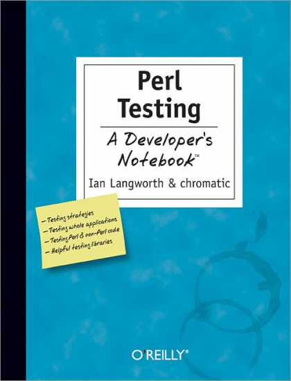 O'Reilly Books - Perl Testing: A Developer's Notebook