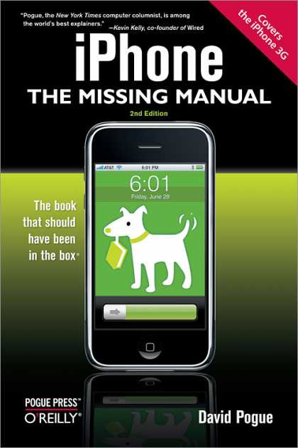 O'Reilly Books - iPhone: The Missing Manual, Second Edition
