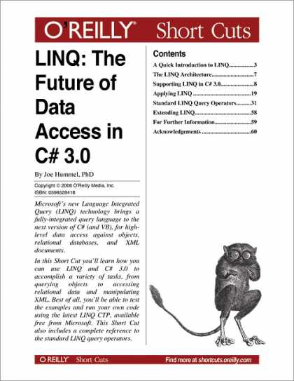 O'Reilly Books - LINQ: The Future of Data Access in C# 3.0