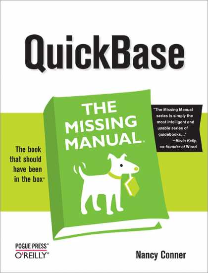 O'Reilly Books - QuickBase: The Missing Manual