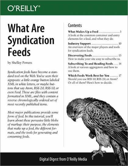 O'Reilly Books - What Are Syndication Feeds