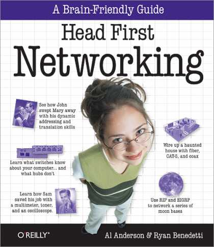 O'Reilly Books - Head First Networking