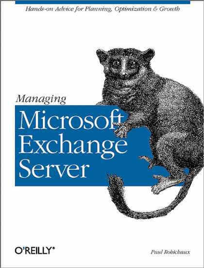 O'Reilly Books - Managing Microsoft Exchange Server