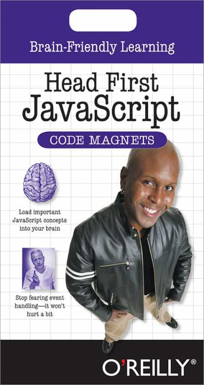 O'Reilly Books - Head First JavaScript Code Magnet Kit