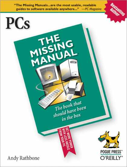 O'Reilly Books - PCs: The Missing Manual