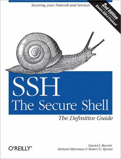 O'Reilly Books - SSH, The Secure Shell: The Definitive Guide, Second Edition