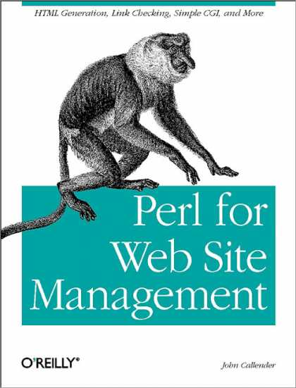 O'Reilly Books - Perl for Web Site Management