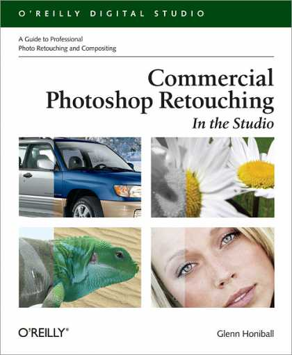 O'Reilly Books - Commercial Photoshop Retouching: In the Studio