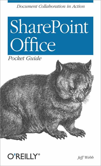 O'Reilly Books - SharePoint Office Pocket Guide