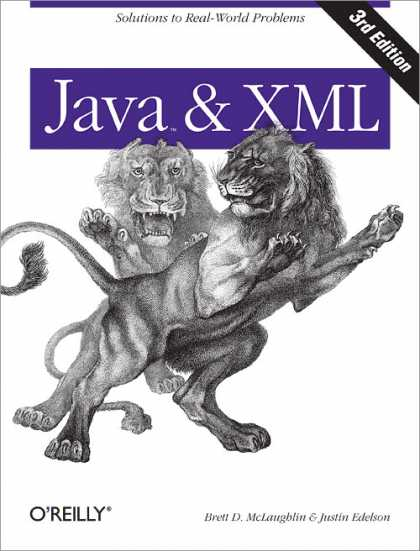 O'Reilly Books - Java and XML, Third Edition
