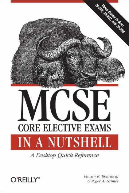 O'Reilly Books - MCSE Core Elective Exams in a Nutshell