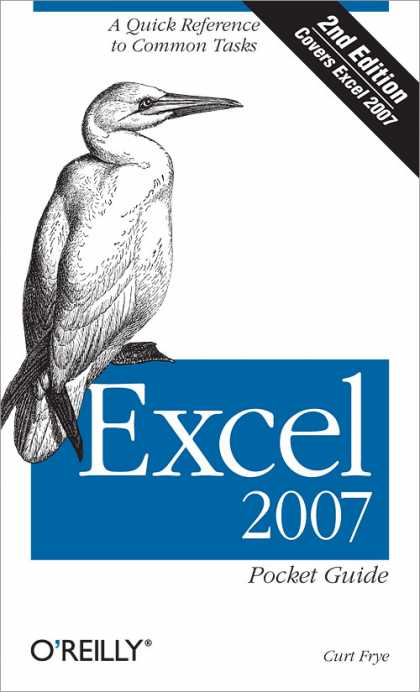 O'Reilly Books - Excel 2007 Pocket Guide, Second Edition