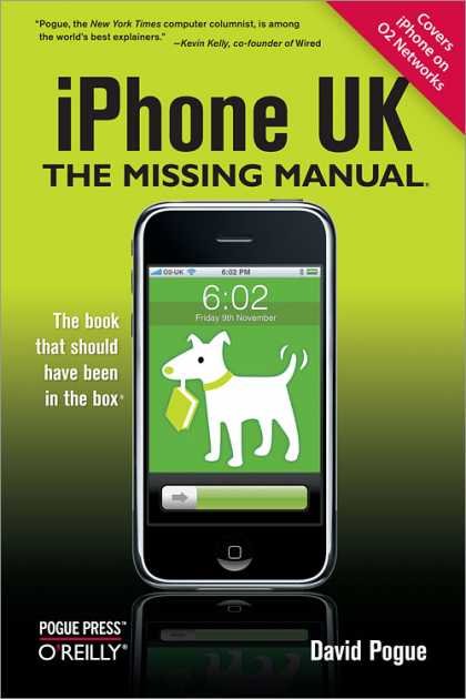 O'Reilly Books - iPhone UK: The Missing Manual