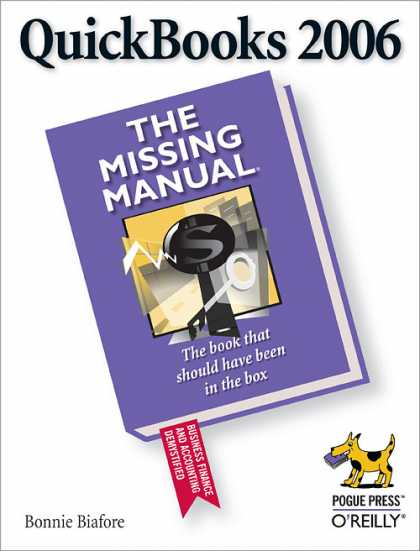 O'Reilly Books - QuickBooks 2006: The Missing Manual