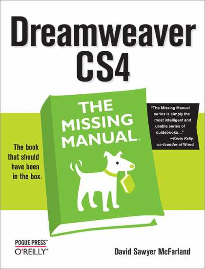 O'Reilly Books - Dreamweaver CS4: The Missing Manual