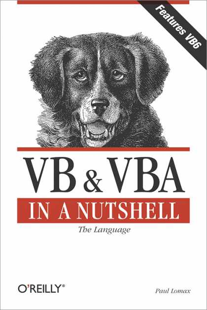 O'Reilly Books - VB & VBA in a Nutshell: The Language