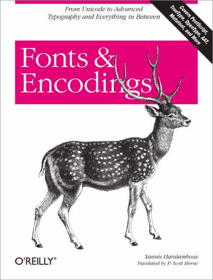 O'Reilly Books - Fonts & Encodings