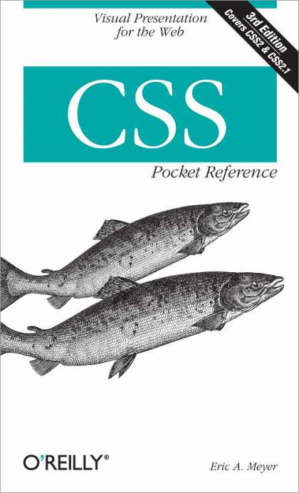 O'Reilly Books - CSS Pocket Reference, Third Edition