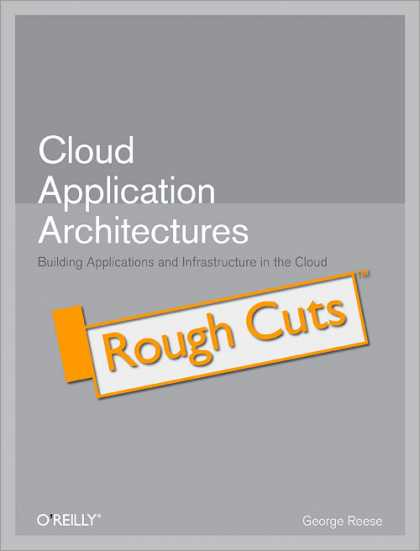 O'Reilly Books - Cloud Application Architectures