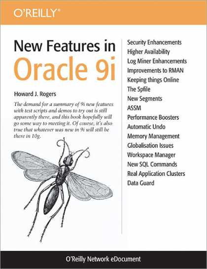 O'Reilly Books - New Features in Oracle 9i
