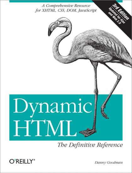 O'Reilly Books - Dynamic HTML: The Definitive Reference, Third Edition